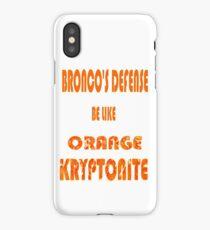 Broncos D iPhone Case/Skin