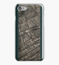 Iron Meteorite Widmanstätten pattern iPhone Case/Skin