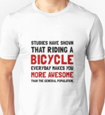 Bicycle More Awesome Slim Fit T-Shirt