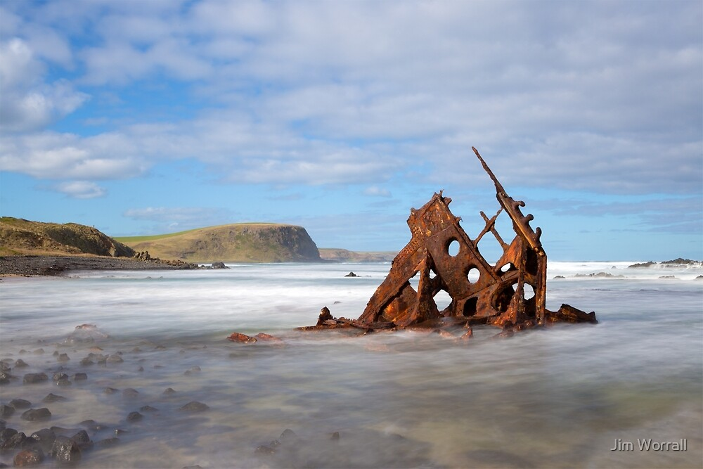 SS Speke shipwreck - Phillip Island by Jim Worrall