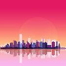 New york city landscape. Ny. Manhattan by elfelipe