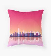 New york city landscape. Ny. Manhattan Throw Pillow