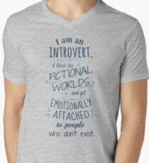 introvert, fictional worlds, fictional characters T-Shirt
