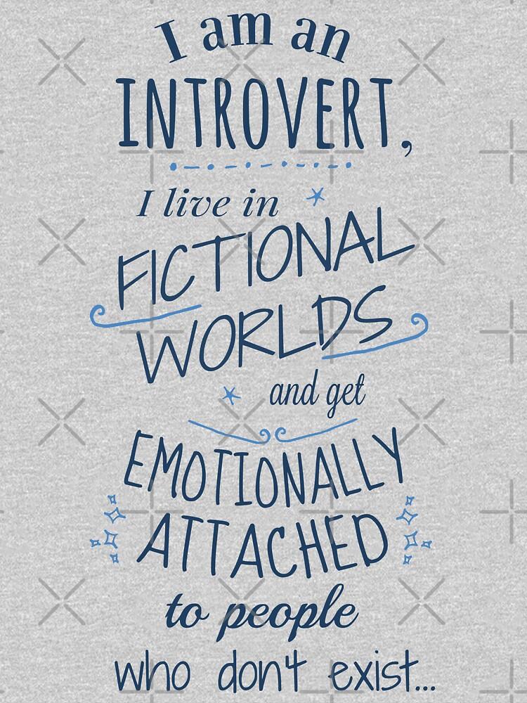 introvertierte, fiktive Welten, fiktive Charaktere von FandomizedRose