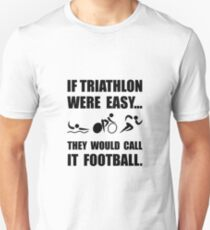Triathlon Football T-Shirt