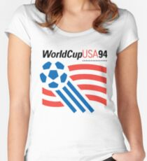 World Cup 94 USA Women's Fitted Scoop T-Shirt