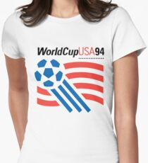World Cup 94 USA Womens Fitted T-Shirt