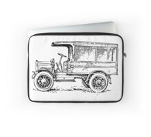1920's Truck, Old Car Drawing Laptop Sleeve