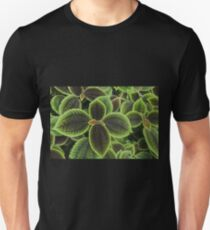 Green Ric Rac Edging Unisex T-Shirt