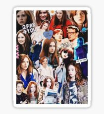 Karen Gillan Sticker