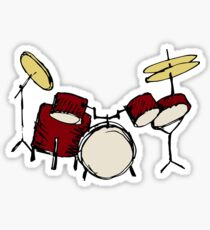 Drums Sticker