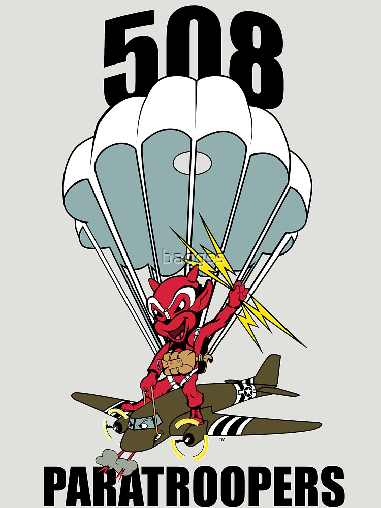 508 PARATROOPERS CARTOON by baggss