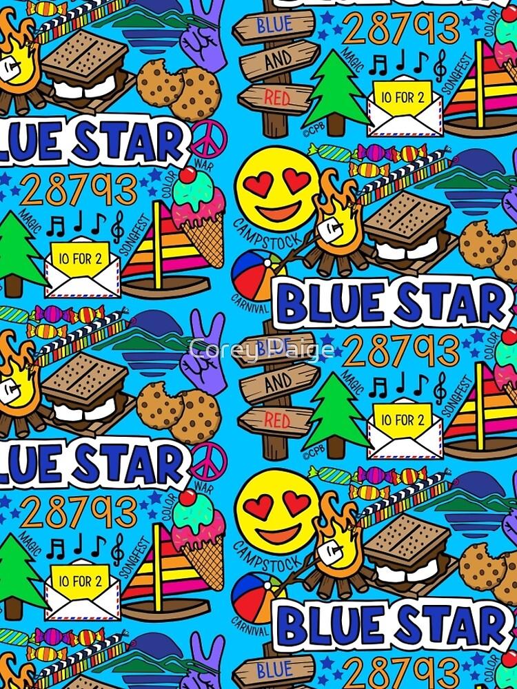 Blauer Stern von Corey-Paige