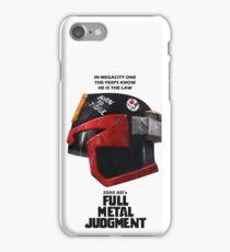 Full Metal Mashup!!! - Born to Judge iPhone Case/Skin