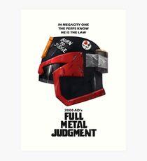 Full Metal Mashup!!! - Born to Judge Art Print