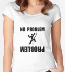 Climbing Problem Women's Fitted Scoop T-Shirt