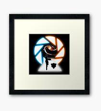 Space Portal Framed Print