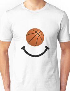 Basketball Smile Unisex T-Shirt