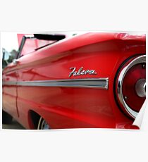 1963 Ford Falcon Name Plate Poster