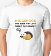 Hedgehog Share Unisex T-Shirt