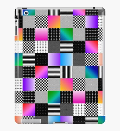 Mondrian Couture iPad Case/Skin