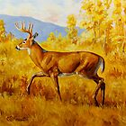 Whitetail Deer in Aspen Woods by csforest