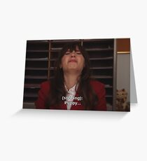 New Girl  Greeting Card