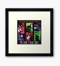 Flesh Reunion Framed Print