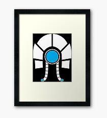 Mass Effect - Legion (White) Framed Print