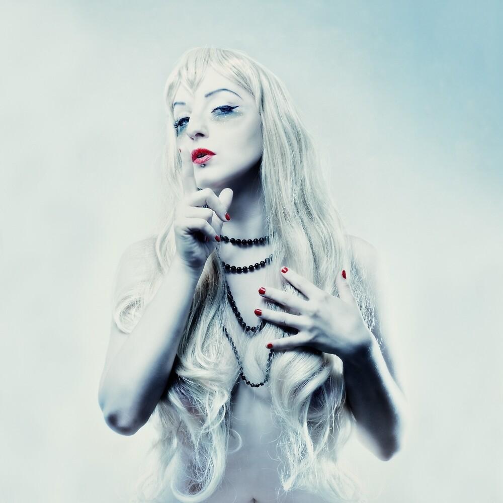 snow queen by Michal Tokarczuk