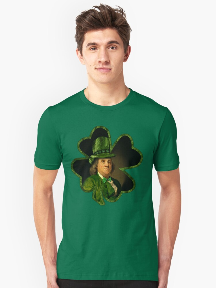 Lucky Ben Franklin Ready for St Patricks Day by Gravityx9