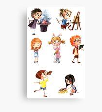 Cute children Canvas Print