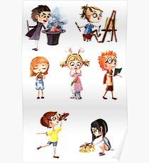 Cute children Poster