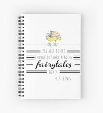 Read your Fairy Tales Spiral Notebook
