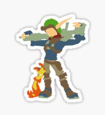 Jak and Daxter - Minimalist Sticker