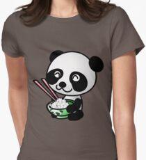 """""""Panda"""" Women's Fitted T-Shirt"""