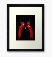 Darth Sidious - Star Wars Framed Print