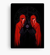 Darth Sidious - Star Wars Canvas Print