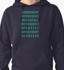 Bitcoin Binary (Silicon Valley) Pullover Hoodie