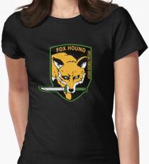 MGS -  Foxhound SFG Logo Womens Fitted T-Shirt