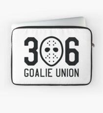 306 Goalie Union (Black) Laptop Sleeve