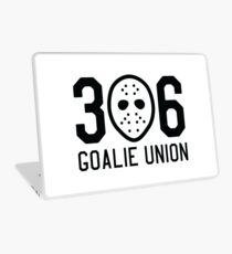 306 Goalie Union (Black) Laptop Skin