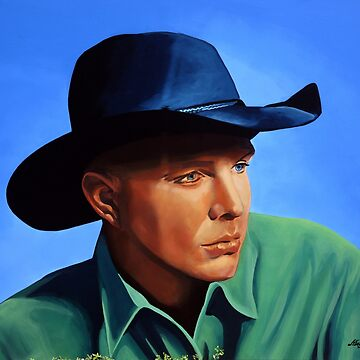Garth Brooks painting by PaulMeijering