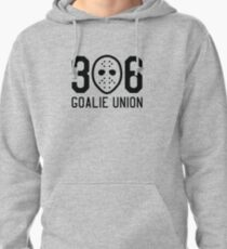 306 Goalie Union (Black) Pullover Hoodie