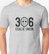 306 Goalie Union (Black) Unisex T-Shirt
