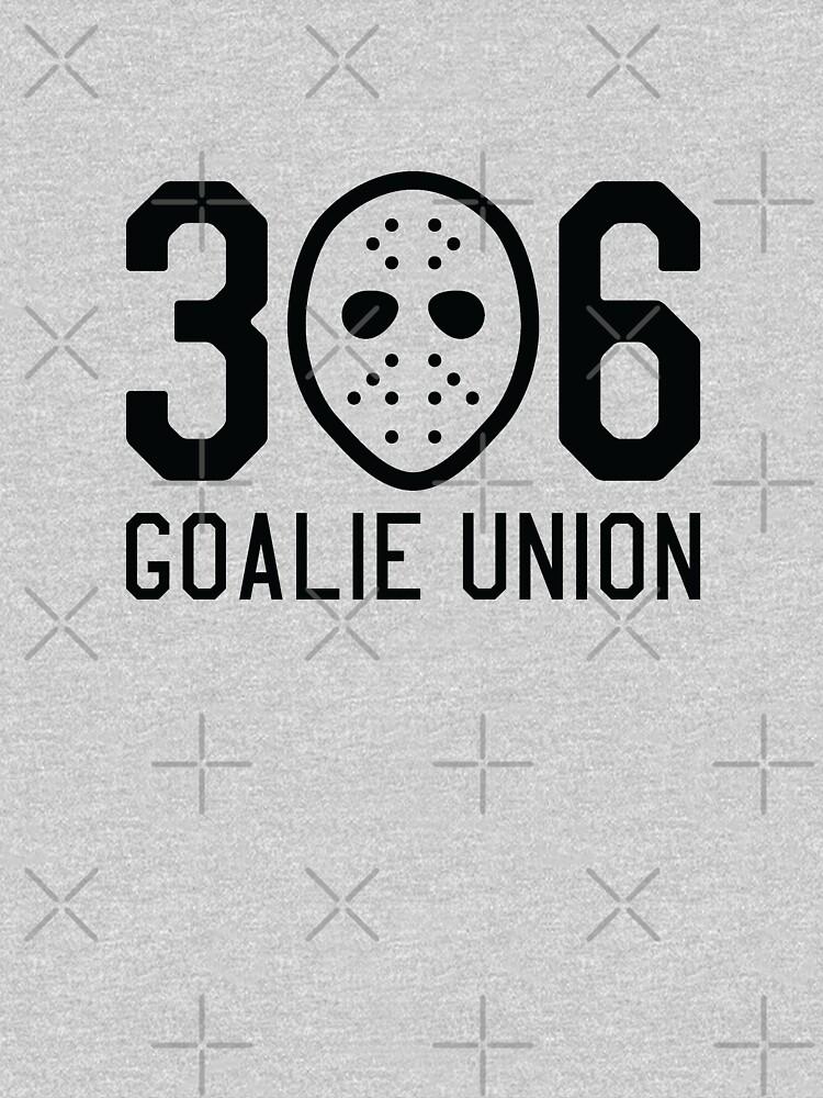 306 Goalie Union (Black) by madeinsask
