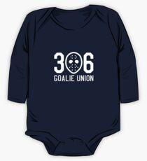 306 Goalie Union (White) One Piece - Long Sleeve