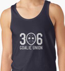 306 Goalie Union (White) Tank Top