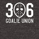 306 Goalie Union (White) by madeinsask