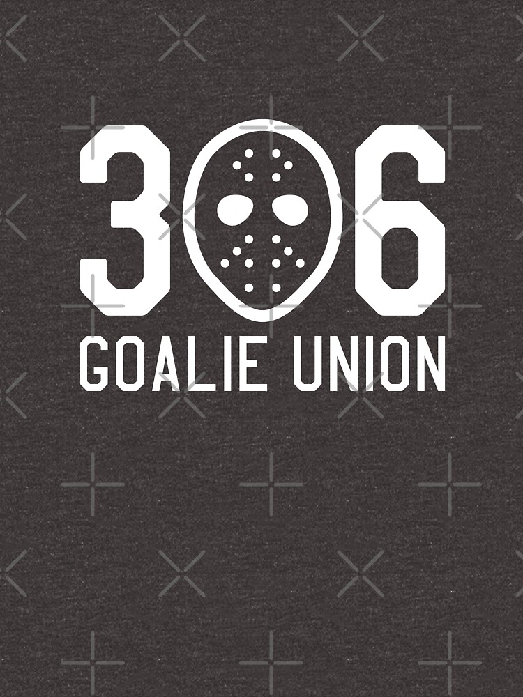 306 Goalie Union (White) by madeinsask